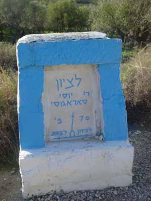 Saragosi-sign
