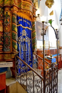 The oldest synagogue in Tzfat.